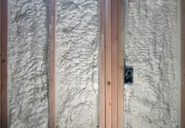 Wall Foam Insulation with SPF